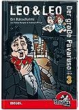Leo & Leo: Der große Pavaruso: Ein black stories Junior-Rätselkrimi (Leo & Leo - Rätselkrimis)