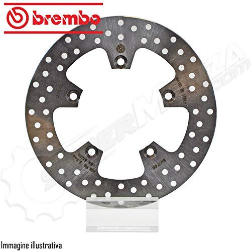 DFC SRL 68b40768 Brembo Disco Freno Fisso Posteriore Compatibile Con Ducati 748 749 R 03//07