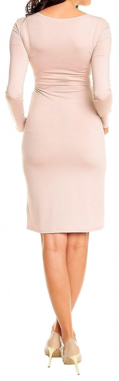 Happy Mama Damen Umstands Kleid Passt In Allen Phasen Der Schwangerschaft 285p