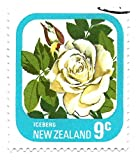 New Zealand 1975 Postage Stamp Iceberg Rose 9 Cents Scott #592
