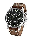 TW Steel Men's MS14 TW Steel Maverick Analog Display Quartz Brown Watch