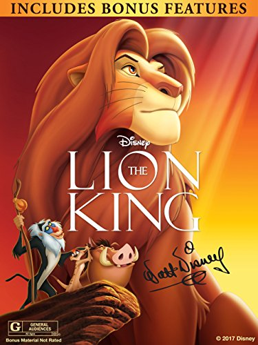 The Lion King  The Walt Disney Signature Collection  With Bonus Content