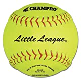 Champro Little League Poly Synthetic Cover, Red Set (Optic Yellow, 12-Inch)