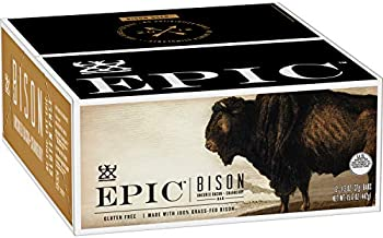 12-Count EPIC Bison Bacon Cranberry Bars (1.3oz)