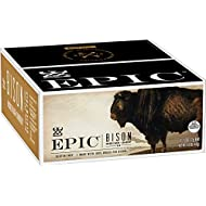 EPIC Bison Bacon Cranberry Bars, Grass-Fed, Paleo Friendly, 12 Ct Box 1.3oz bars