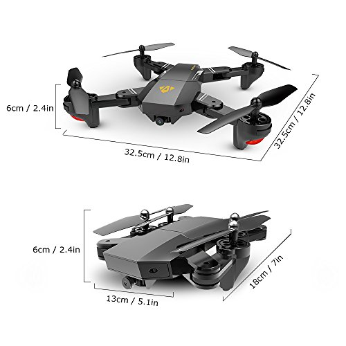 OKPOW 2MP Wide Angle Selfie Drone
