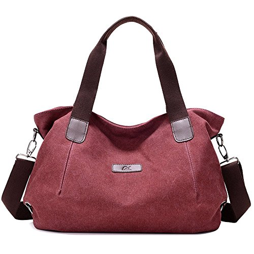 Nameblue - Crossed Womens 848-848-brown 848 Brown-bag Wine Red