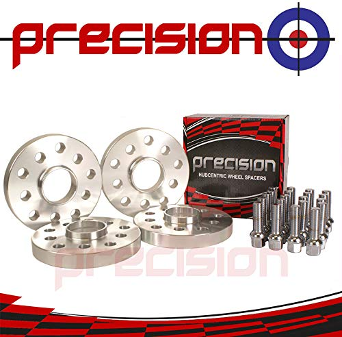 8P Bolts for Genuine /Àudi A3 Alloy Wheels 8L Precision 20mm Hubcentric Spacers 2 Pairs 4PHS2+20BM1445R121 8V Part No