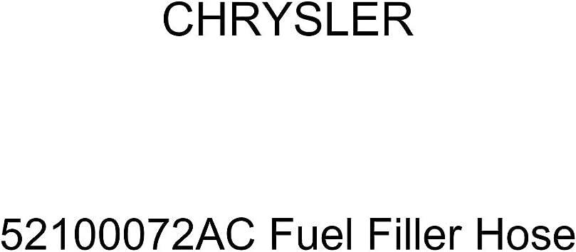 Genuine Chrysler 52100072AC Fuel Filler Hose