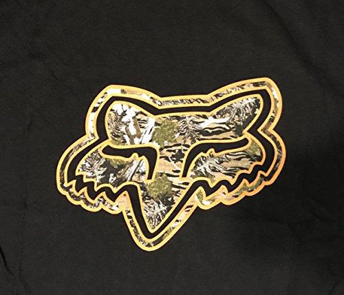 887537936565 - Fox Mens Granger Short Sleeve Tee, Black (Medium) carousel main 1