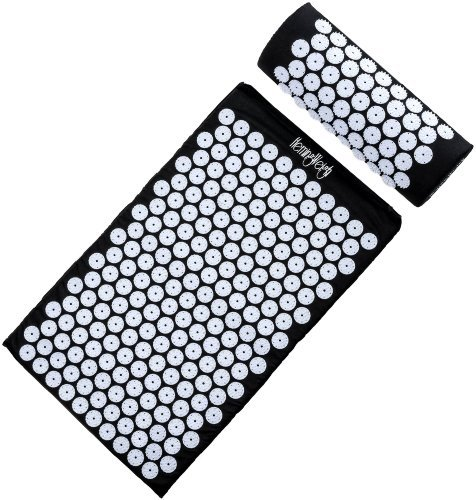 HemingWeigh Complete Acupressure Mat and Pillow Set with Bonus Carry Bag...