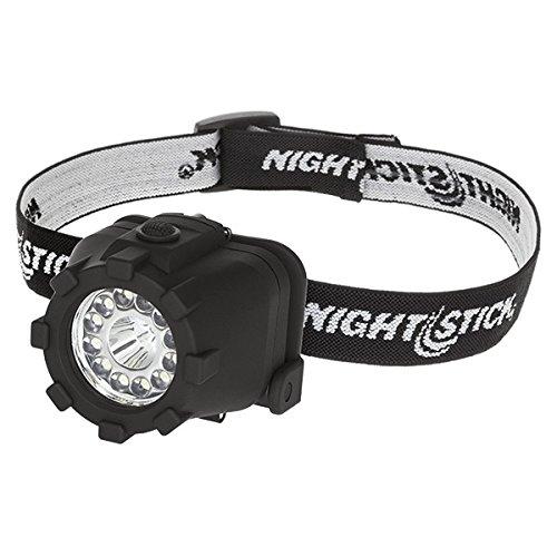 (Nightstick NSP-4604B Dual-Light Headlamp, Black)