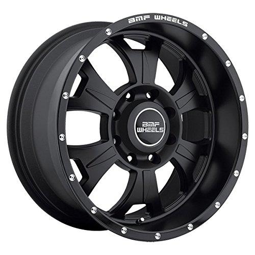 BMF 462SB M-80 20x9.0 8x165.1 +0mm Stealth Black Wheel Rim (Bmf Rims)