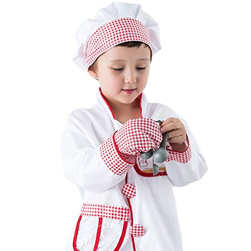 Iplay Ilearn Chef Role Play Costume Cooking Dress Up Set