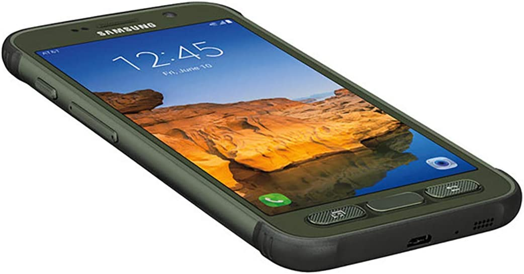 Camo Green Renewed Samsung Galaxy S7 active SM-G891A 32GB AT/&T Locked