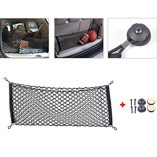 Rear Cargo Storage Mesh Net Nylon Pocket Bag Organizer Net for Trunk Hatchback Car Accessories AT0015707