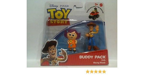 Toy Story Action Links Buddy Packs - Dolly & Waving Woody: Amazon.es: Juguetes y juegos