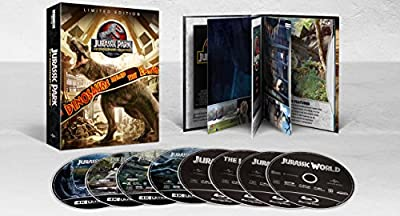 Jurassic Park 25th Anniversary Collection [Blu-ray] from Universal Pictures Home Entertainment