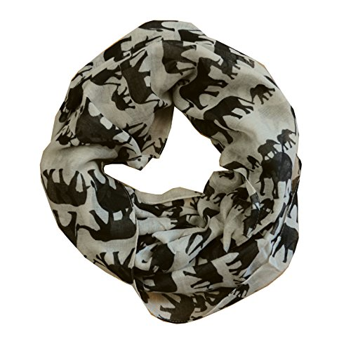 Scarf Tradinginc Animal printed Infinity Loop Scarf Cowl
