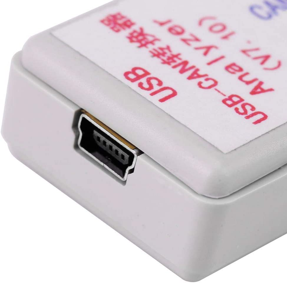 with USB cable for CAN2.0A and CAN2.0B WiN7//WIN8 32-bit//64-bit USB-CAN converter adapter USB-CAN bus converter