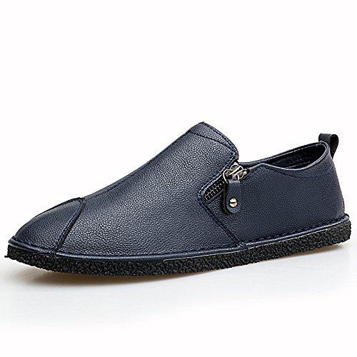El hombre que conducía el coche Patines Calzado casual calzado casual clásico de alta calidad Forty-three|blue blue