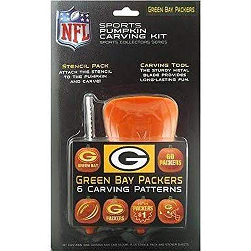 Boelter Brands NFL Green Bay Packers Pumpkin Carving Kit