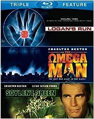 Sci-Fi: Triple Feature (BD) (Soylent Green, Logan's Run, Omega Man)]]>