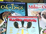 Racing Stripes , the Adventures of Milo and Otis , Cats & Dogs : Family Animal Movie 3 Pack