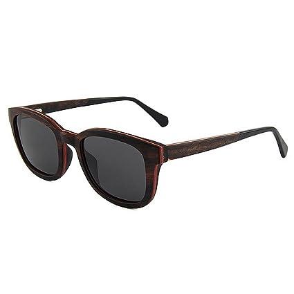 Ultra ligero para hombre Gafas de sol de madera polarizadas para hombre Gafas de sol de