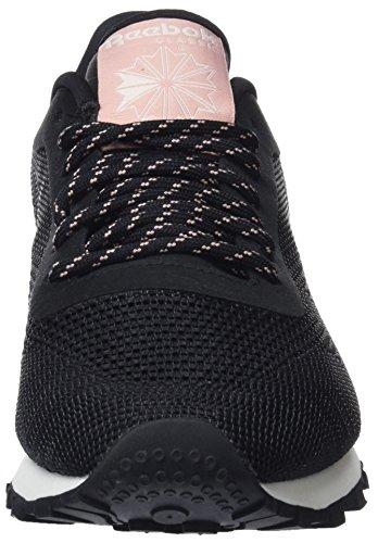 Basses Flexweave Pink black Noir Femme chalk chalk Pink Sneakers Reebok Classic pale qAPxF55t