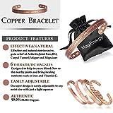 Copper Bracelet for Arthritis Cross Christian for