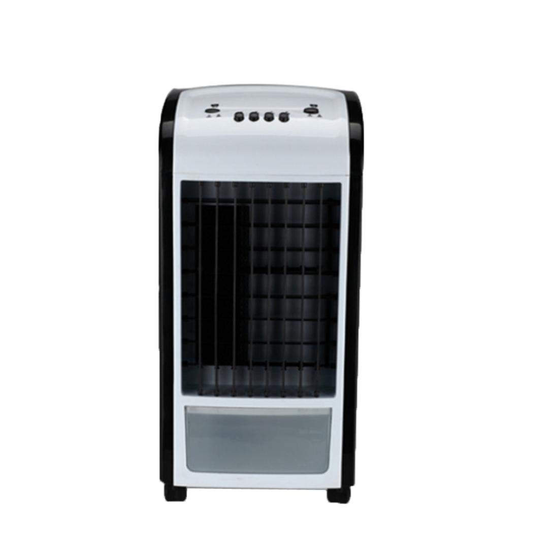Creazy Air Cooler, 4 in 1 Air Conditioner Humidifier & Purifier Freshener Portable Mini Water Cooling Fan 3.5L Green With Remote Control (Black)