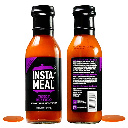 - Insta-Meal Instant Pot Compatible Sauce, Tangy Buffalo Wing Cooking Starter - Fast & Easy Chicken Recipes for Beginners & Beyond   Fresh & Healthy, No Prep, 5 Ingredient One-Pot Pressure Cooker Meals