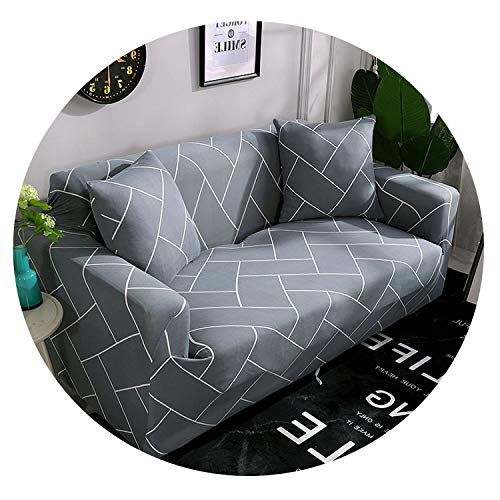 (Black Flower Slipcovers Sofa Couch Cover Tight Wrap All-Inclusive Slip-Resistant Sofa Covers for Home Living Room Christmas,Color 19,AB 90-140cm)