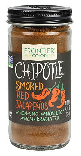 Frontier Ground Bottle, Chipotle, 2.15 - Sauce Organic Ground