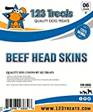 123 Treats Thick Rawhide Chips for Dogs