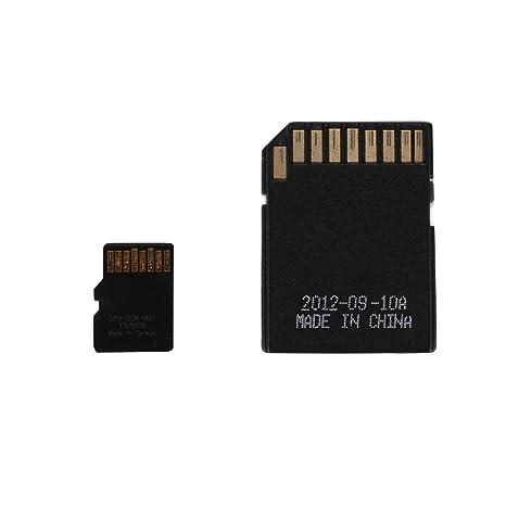 Hanbaili Adaptador de tarjeta SD Card América del Sur Australia + GPS Mapa Android Sistema de 8GB TF / Micro SD + C10 para indash coches reproductor ...