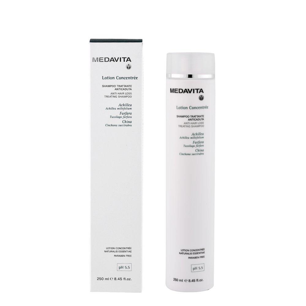 Amazon.com : [Medavita] Lotion Concentree Trattante Shampoo 250ml Anti-hair Loss / Scalp Activation : Beauty