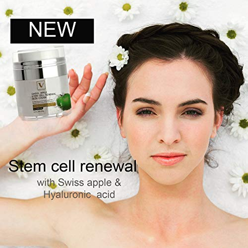 SWISS APPLE STEM CELL RENEWAL CREAM 30 ml for face eyes neck