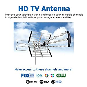 HDTV Amplified Antenna