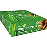 Amazing Grass Organic Green SuperFood Whole Food Energy Bar, 2.1 oz. Bars, 12-Count Bars by Amazing Grass