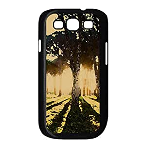 Outdoors Watercolor style Cover Samsung Galaxy S3 I9300 Case (Landscape Watercolor style Cover Samsung Galaxy S3 I9300 Case)