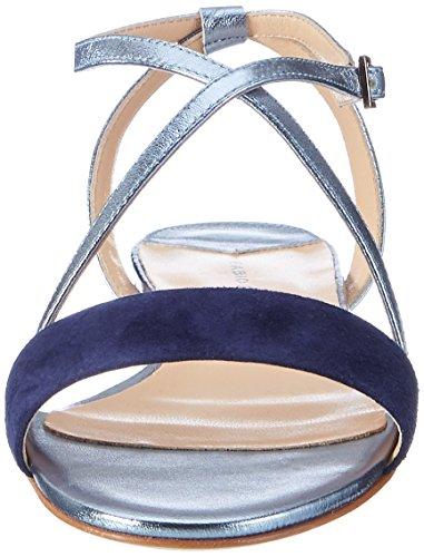 Fabio Rusconi S 3587, Sandalias Romanas para Mujer Azul (Denim+cielo)