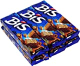 Lacta - Bis - Chocolate Wafer - Box w/ 20 Units - 4.9oz (PACK OF 06) | Chocolate ao Leite - Caixa c/ 20 unidades - 140g