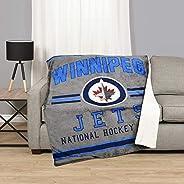 NHL 53540-FLE-125A-WINN Winnipeg Jets Superluxe Sherpa Throw