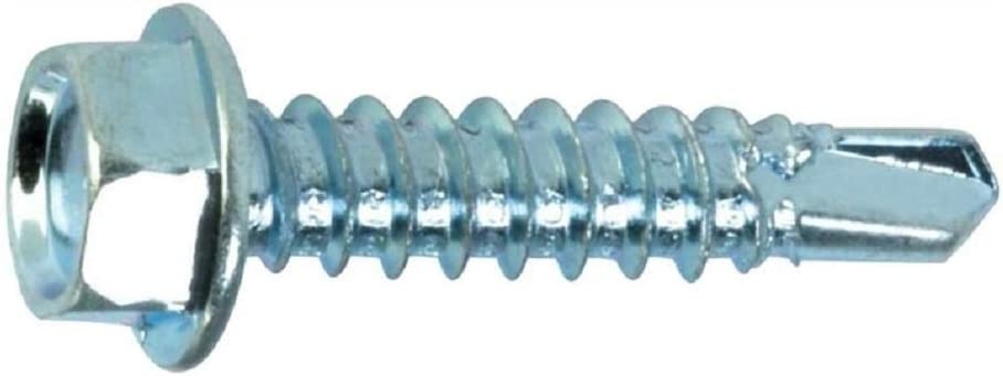SCREW HEX WSHR 10X1 1#