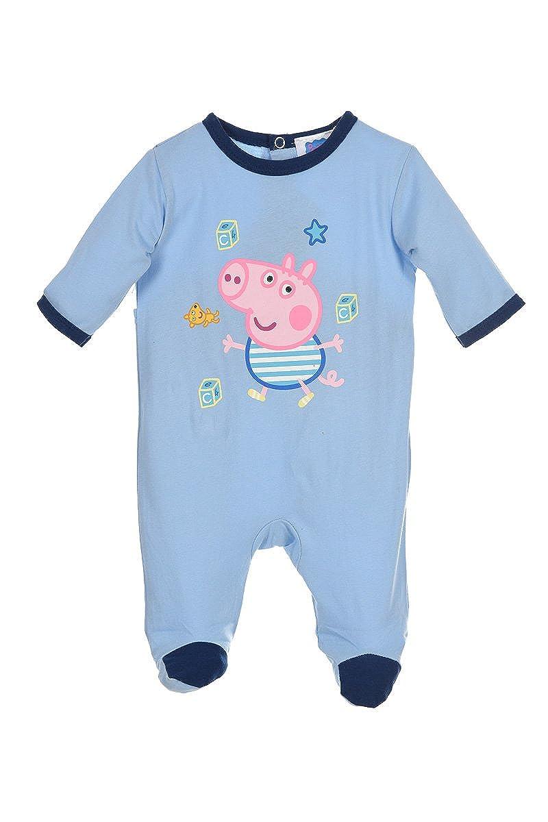 Enfants Les Tout-Petits Peppa Pig Tout en un Pyjamas Combinaison Marchandise Officielle