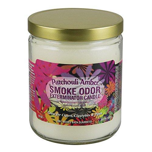 Smoke Odor Exterminator 13 Oz Jar Candle Patchouli, Amber