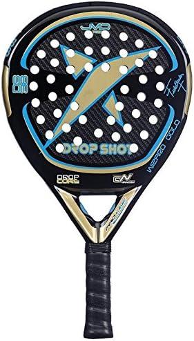 DROP SHOT Wizard Gold - Pala de pádel, Color Negro/Dorado/Azul, 38 ...