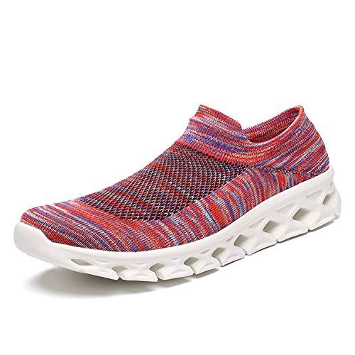 Zapatos Mujer Deporte Zapatillas Sports 45 35 Cordones Rojo Hombre Sneakers Running Athletic Para Correr dtqEExR